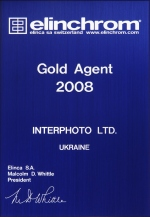 Gold Agent of Elinchrom